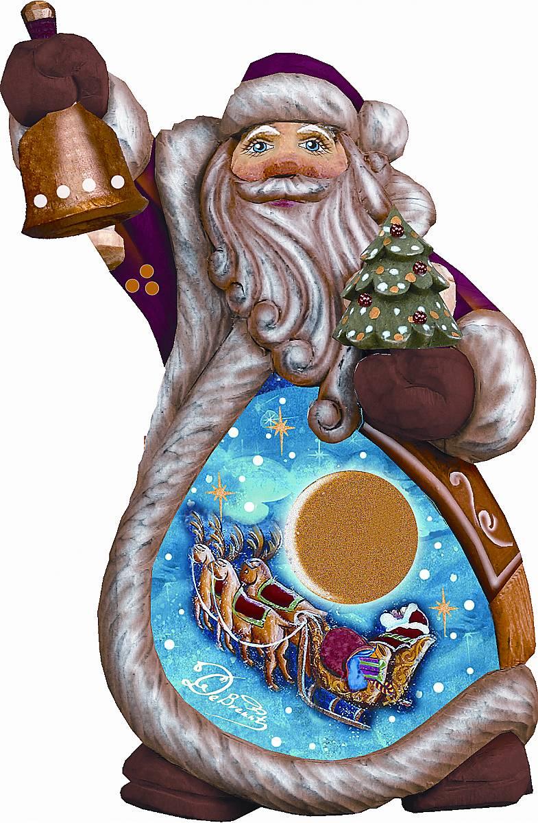 Фигурка новогодняя декоративная Mister Christmas Дед Мороз, коллекционная, высота 10 смUS 6612234Новогодняя декоративная фигурка Mister Christmas Дед Мороз полностью изготовлена вручную из полистоуна. Дед Мороз – самый главный виновник Нового Года. Своим волшебным посохом он каждую зиму сменяет один год на другой. А мы, в свою очередь, шумно и весело отмечаем этот праздник в кругу семьи и друзей. Фигурка Деда Мороза обязательно должна быть в каждом доме в этот праздник. На создание Деда Мороза мастеру требуется несколько дней и более двух тысяч взмахов кисти. Новогодняя коллекционная игрушка Mister Christmas Дед Мороз станет настоящей фамильной ценностью, которая будет передаваться из поколения в поколение. Все игрушки из этой коллекции выпускаются в ограниченном количестве. Каждому изделию присваивается индивидуальный номер. Поэтому этот Дед Мороз станет самым настоящим эксклюзивным новогодним подарком.