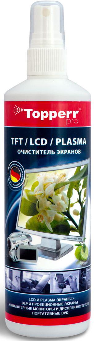 """Pro Спрей-очиститель """"Topperr"""" для TFT/LCD/PLASMA, 250 мл"""
