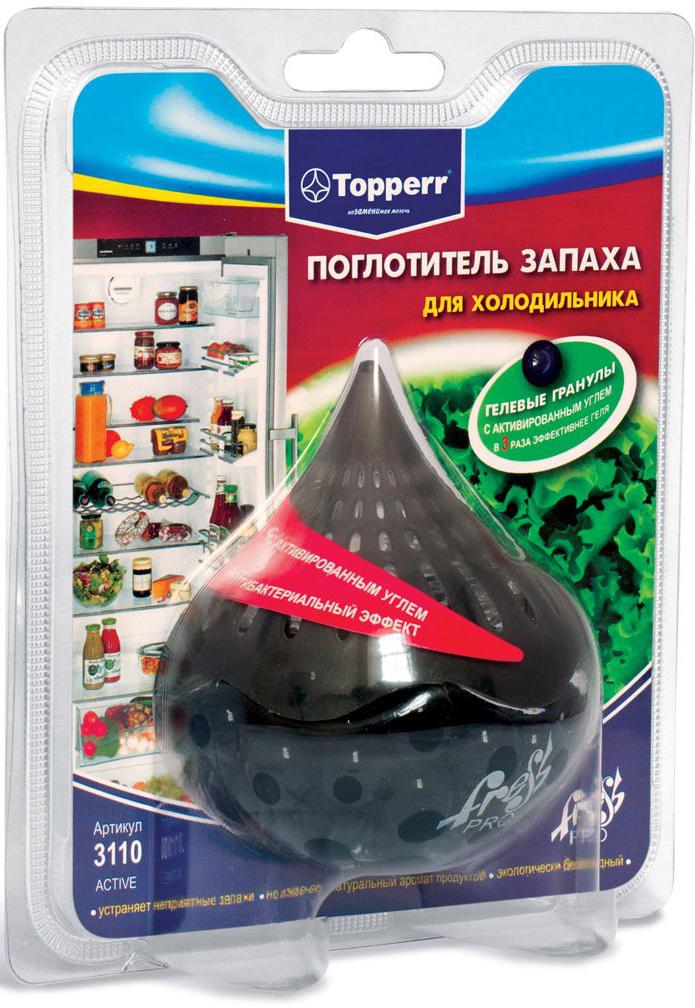 Поглотитель запаха для холодильника Topperr