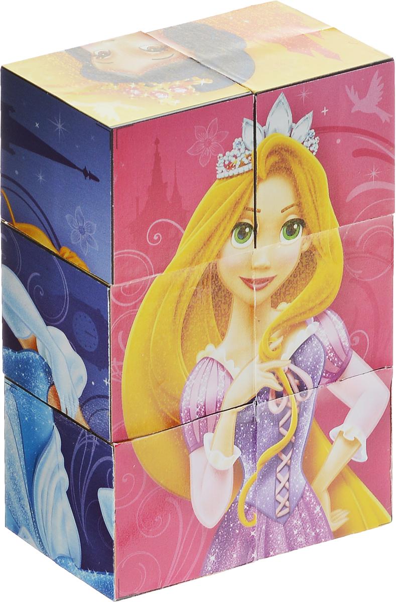 Играем вместе Кубики Disney Принцесса02006С помощью шести кубиков Играем вместе Disney Принцесса ребенок сможет собрать целых шесть красочных картинок с изображением диснеевских принцесс. Кубики - самая популярная и самая необходимая игрушка для малыша. Игра с кубиками развивает зрительное восприятие, наблюдательность и внимание, мелкую моторику рук и произвольные движения. Ребенок научится складывать целостный образ из частей, определять недостающие детали изображения. Это прекрасный комплект для развлечения и времяпрепровождения с пользой для малыша.