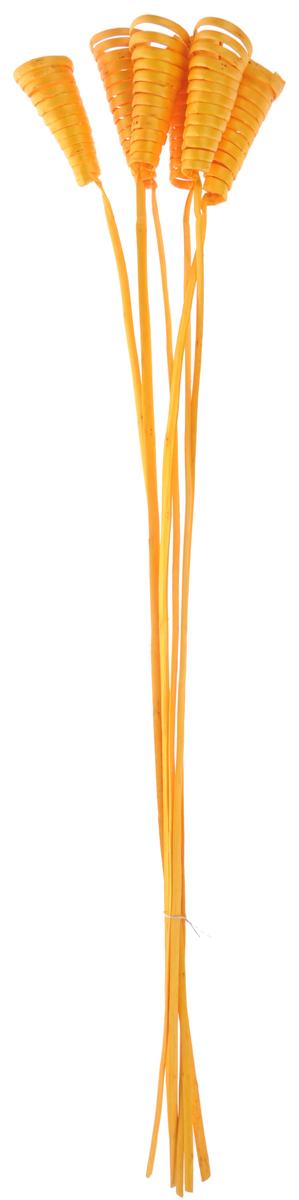 Украшение декоративное Lovemark Завиток Кейн-Кон, 6 шт6059Букет с цветами ручной работы - великолепный подарок себе и вашим близким. Этот очаровательный предмет интерьера будет приковывать взгляды ваших гостей. Изделия из соломы сочетают в себе энергию солнечных лучей и человеческих рук. Несмотря на свой хрупкий вид, cолома - прочный и долговечный материал, а значит не помнется и не поломается со временем. Рекомендации по уходу: изделие должно находиться в сухом помещении.