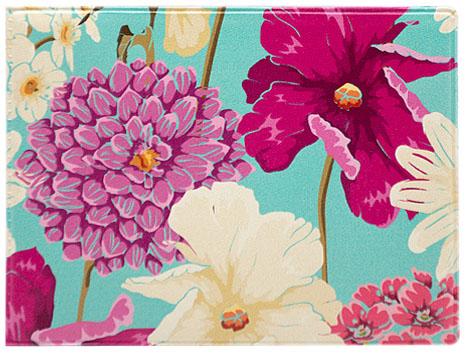 Обложка для студенческого Kawaii Factory Цветочный букет, цвет: голубой, розовый. KW067-000050KW067-000050