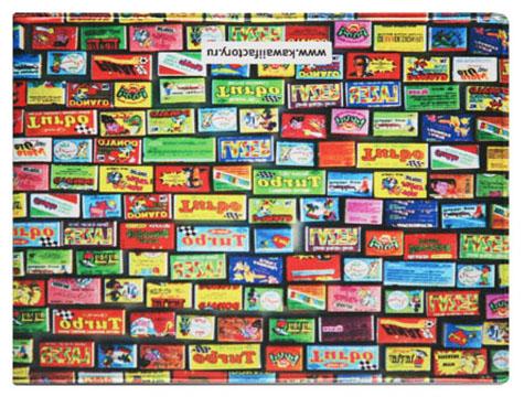 Обложка для студенческого Kawaii Factory Турбо, цвет: черный, красный. KW067-000035KW067-000035
