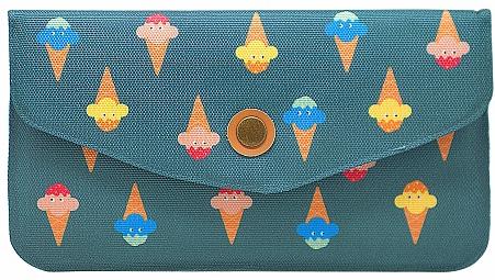 """Кошелек женский Kawaii Factory """"Мороженое"""", цвет: темно-бирюзовый. KW057-000598"""