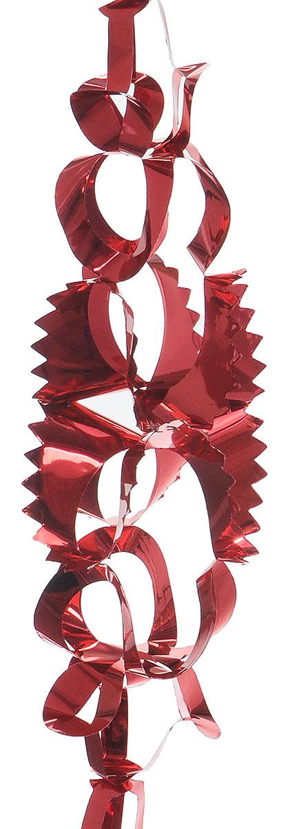 Гирлянда новогодняя Winter Wings, цвет: красный, 15 см х 2,7 мN09014_красныйНовогодняя декоративная гирлянда Winter Wings прекрасно подойдет для декора дома и праздничной елки. Украшение выполнено из ПВХ. Новогодние украшения несут в себе волшебство и красоту праздника. Они помогут вам украсить дом к предстоящим праздникам и оживить интерьер по вашему вкусу. Создайте в доме атмосферу тепла, веселья и радости, украшая его всей семьей.