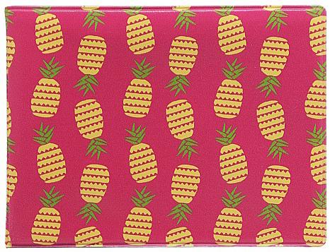 Обложка для студенческого Kawaii Factory Ананасы, цвет: розовый. KW067-000076KW067-000076