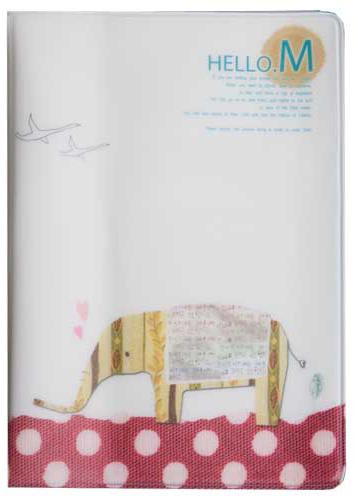 Обложка для паспорта Kawaii Factory Элли, цвет: белый. KW064-000179KW064-000179