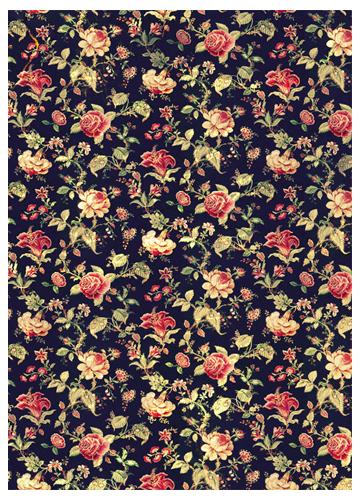 Обложка для паспорта Kawaii Factory Флора, цвет: черный. KW064-000006KW064-000006