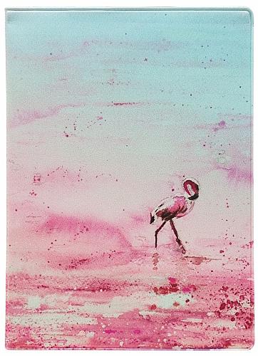 Обложка для паспорта Kawaii Factory Фламинго, цвет: розовый. KW064-000288KW064-000288
