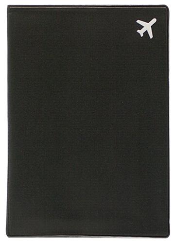 Обложка для паспорта Kawaii Factory Самолет, цвет: черный. KW064-000255KW064-000255Обложка для паспорта от Kawaii Factory - оригинальный и стильный аксессуар, который придется по душе истинным модникам и поклонникам интересного и необычного дизайна. Качественная обложка выполнена из легкого и прочного ПВХ с приятной фактурой, который надежно защищает важные документы от пыли и влаги. Рисунок нанесён специальным образом и защищён от стирания. Изделие раскладывается пополам. Внутри размещены два накладных кармашка из прозрачного ПВХ.