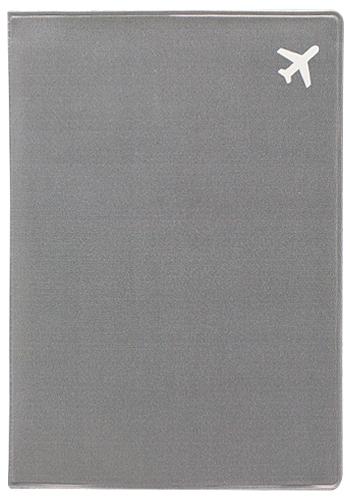 Обложка для паспорта Kawaii Factory Самолет, цвет: серый. KW064-000256KW064-000256Обложка для паспорта от Kawaii Factory - оригинальный и стильный аксессуар, который придется по душе истинным модникам и поклонникам интересного и необычного дизайна. Качественная обложка выполнена из легкого и прочного ПВХ с приятной фактурой, который надежно защищает важные документы от пыли и влаги. Рисунок нанесён специальным образом и защищён от стирания. Изделие раскладывается пополам. Внутри размещены два накладных кармашка из прозрачного ПВХ.
