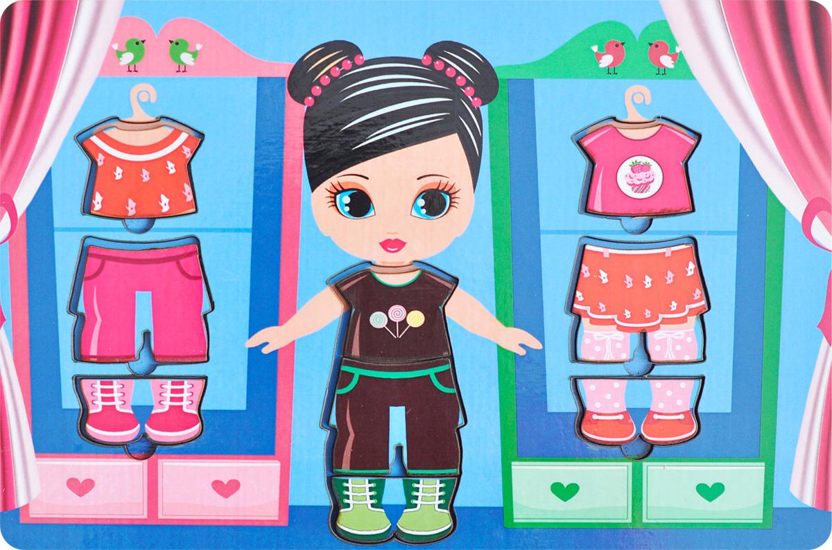 Фабрика Мастер игрушек Обучающая игра Гардероб двойнойIG0057Обучающая игра Фабрика Мастер игрушек Гардероб двойной позволит развить творческие способности ребенка, научит сочетать предметы гардероба по цвету и стилю. Произносите вслух названия предметов одежды – это позволит ребенку запомнить их названия и различать между собой.