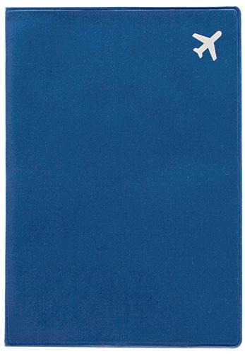 Обложка для паспорта Kawaii Factory Самолет, цвет: синий. KW064-000258KW064-000258