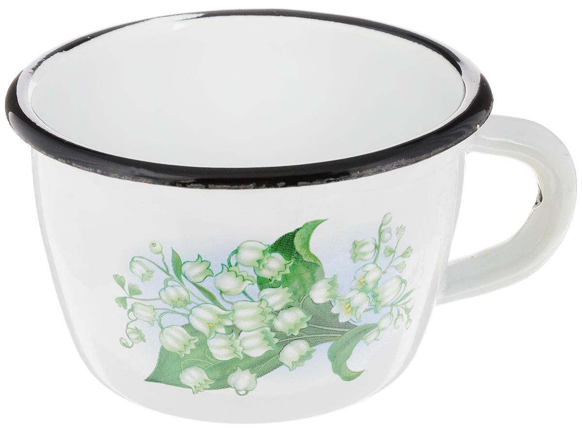 Кружка эмалированная Эмаль, 250 мл01-0102/4Кружка Эмаль изготовлена из высококачественной стали с эмалированным покрытием. Она оснащена удобной ручкой и оформлена ярким цветочным рисунком. Такая кружка не требует особого ухода и ее легко мыть. Благодаря классическому дизайну и удобству в использовании кружка займет достойное место на вашей кухне. Диаметр кружки (по верхнему краю): 9 см.