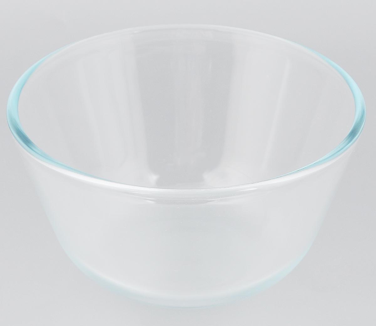Миска Sсovo, 1,25 л597Миска Sсovo изготовлена из термостойкого и экологически чистого стекла. Предназначена для приготовления пищи в духовке, жарочном шкафу и микроволновой печи. Миска прекрасно подойдет для хранения и замораживания различных продуктов, а также для сервировки и декоративного оформления праздничного стола. Миска Sсovo станет незаменимым аксессуаром на кухне для любой хозяйки. Можно мыть в посудомоечной машине. Высота стенки: 9,5 см. Диаметр миски (по верхнему краю): 17 см.