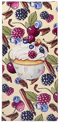 Обложка для документов женская Kawaii Factory Cupcake, цвет: бежевый. KW066-000006KW066-000006