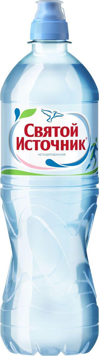 Святой Источник вода Спорт природная питьевая негазированная, 0,75 л