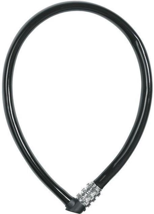 Велозамок кодовый Abus 1100/55, цвет: черный128172_ABUSТип: трос с кодом. Обхват: 55 см. Материал: Сталь в ПВХ оболочке. Длина(мм): 550. Толшина троса(мм): 6. Ключ: 3-х разрядный код. Уровень защиты: 1 (стандарт)