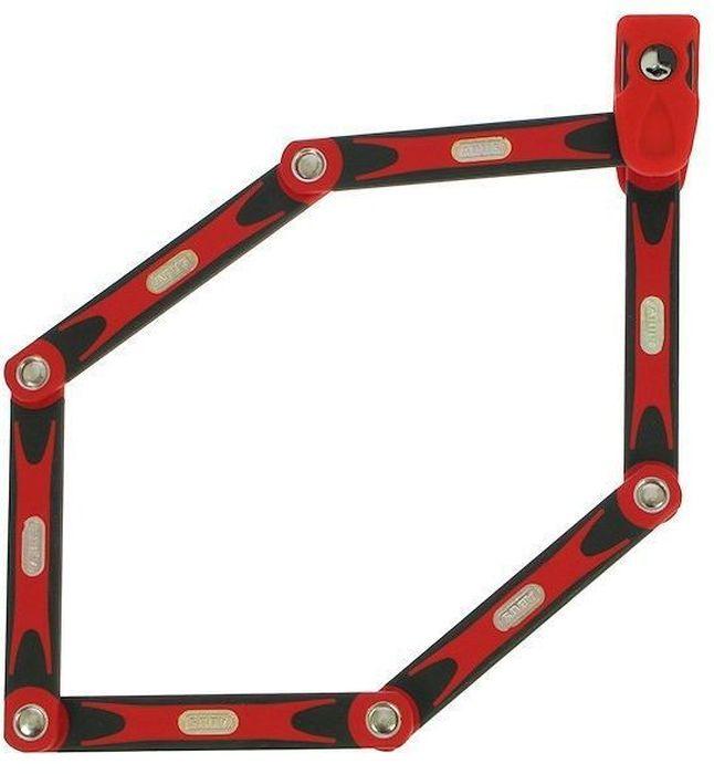 Велозамок с ключом Abus Bordo BIG 6000/120, цвет: красный541292_ABUSABUS Bordo 6000 — это cегментный замок из стальных пластин на подвижных шарнирах позволяет сочетать надежность U-замка и удобство цепи. Именно благодаря такому компромиссу серия Bordo получила огромную популярность в велосипедистов. Особенности: Шесть стальных пластин толщиной 5 мм Гибкое соединение пластин обеспечивает компактное транспортировки Пластины и корпус замка изготовлены из специальной закаленной стали Пластины надежно соединены специальными шарнирами Цилиндр замка высочайшего качества для надежной защиты против интеллектуальных методов взлома Полимерное покрытие пластин для защиты краски вашего велосипеда Легкий чехол замка фиксируется на место флягодержателя Размеры: Длина: 1200 мм, Толщина: 5 мм мм