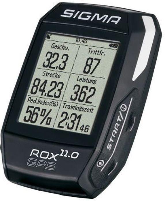 Велокомпьютер Sigma ROX 11.0 GPS BlackSIG_01006Велокомпьютер SIGMA ROX 11.0 GPS BLACK инструмент для достижения высокой производительности. Новые датчики R1 и R2 DUO DUO COMBO передают все необходимые данные обучения с использованием технологии ANT. Новые спортивные профили могут быть адаптированы к вашим личным предпочтениям, используя центр обработки данных. С помощью GPS-навигации дорожки и многочисленные функции SIGMA ROX 11.0 GPS является идеальным спутником. Функции скорости Текущая скорость Среднее развитие Средняя скорость Калорийность (на основе hr) Максимальная скорость Расстояние Функции высотомера Текущий уровень Высота профиля Скороподъемность в м / мин Склон (в%) Навигационные функции Направление движения Расстояние до пункта назначения Вид трека Примерное время прибытия Время до цели Функции температуры Текущая температура Максимальная температура Минимальная температура Функции сердечного ритма...