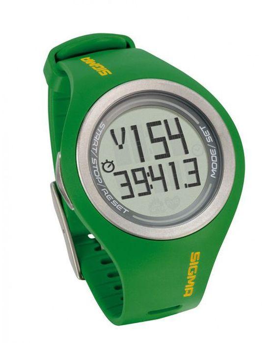 """Пульсометр Sigma """"PC 22.13 Man"""", 22 функции, цвет: зеленый"""