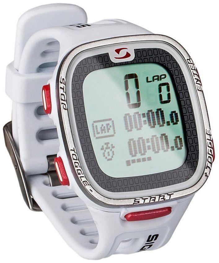 Пульсометр Sigma PC 26.14, 26 функций, цвет: белыйSIG_22611Пульсометр (кардиомонитор, монитор сердечного ритма) представляет из себя портативное устройство определяющее ваш пульс. Современные пульсометры снабжены и многими другими полезными функциями - подбор программы индивидуальной тренировки, определение максимальной скорости, беговой индекс, определение кол-ва сожженных во время тренировки калорий и пр. Особенности: влагозащищенный ЭКГ-точность большой экран и цифры управление одной кнопкой секундомер с десятыми долями секунды и возможность его использования без надевания нагрудного датчика Функции: Пульс Часы Секундомер Комплектация: Часы-пульсометр (3 функции) Аналоговый нагрудный передатчик + ремень к нему Русская инструкция
