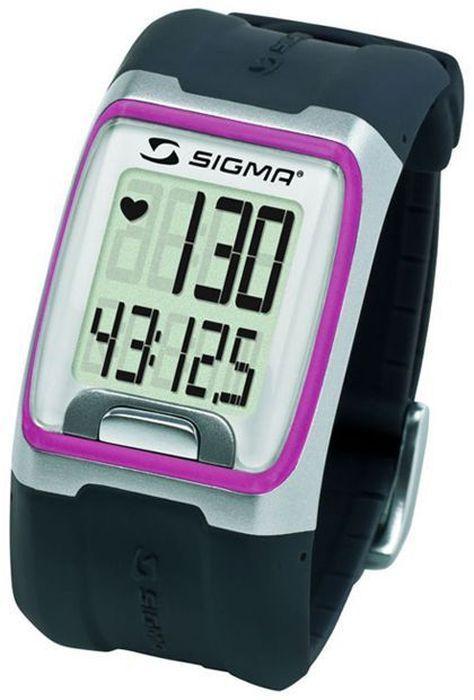 Пульсометр Sigma PC 3.11, 3 функции, цвет: розовыйSIG_23111Пульсометр (кардиомонитор, монитор сердечного ритма) представляет из себя портативное устройство определяющее ваш пульс. Современные пульсометры снабжены и многими другими полезными функциями - подбор программы индивидуальной тренировки, определение максимальной скорости, беговой индекс, определение кол-ва сожженных во время тренировки калорий и пр. Особенности: влагозащищенный ЭКГ-точность большой экран и цифры управление одной кнопкой секундомер с десятыми долями секунды и возможность его использования без надевания нагрудного датчика Функции: Пульс Часы Секундомер Комплектация: Часы-пульсометр (3 функции) Аналоговый нагрудный передатчик + ремень к нему Русская инструкция