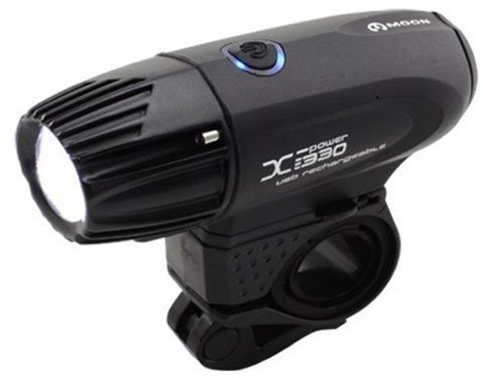 Фонарь передний Moon X-Power330, 1 диод, 5 режимовWP_X-Power330_WОсобенности - 1 CREE XM-L (T5) ультра яркий LED светодиод - Быстросъемная lithium ion батарея(3.7V 3300mAh) - USB зарядка - Влагозащищенный корпус с алюминиевой головкой - 5 режимов : Максимум / Высоко / Высоко / Высоко / Мигание - Быстросъемное крепление на руль (22-31.8mm) - Быстросъемное крепление на шлем - Индикатор разряда и полной зарядки аккумулятора - Функция автоматического отключения при полной зарядке - Оптические линзы - Размер:105 x 35 x 37mm