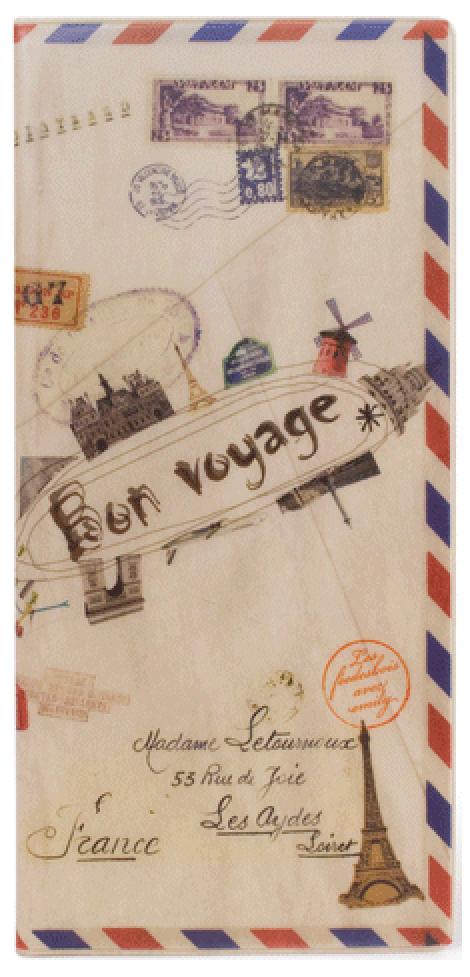 Обложка для документов Kawaii Factory Envelope, цвет: бежевый. KW066-000032KW066-000032
