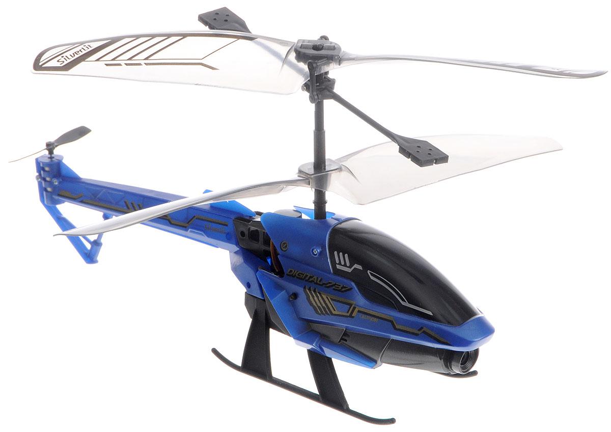 Silverlit Вертолет на инфракрасном управлении Spy Cam 3 цвет синий84737_синийВертолет на инфракрасном управлении Silverlit Spy Cam 3 привлечет внимание не только ребенка, но и взрослого, и станет отличным подарком любителю воздушной техники. Вертолет имеет трехканальное дистанционное управление. Возможные движения: вверх, вниз, вправо, влево. Сверхточное цифровое управление позволяет совершать самые невероятные маневры. Встроенный гироскоп гарантирует стабилизацию полета в любых условиях. Модель вертолета оснащена встроенной камерой с функцией фото и видеосъемки. Разрешение камеры составляет 1280 х 960. Файлы записываются на внутреннюю память. Все фотографии и видеозаписи можно перенести на компьютер с помощью кабеля USB. Вертолет идеально подходит для игры внутри помещения. Каждый полет вертолета будет максимально комфортным и принесет вам яркие впечатления! В комплекте: вертолет, пульт управления, два запасных хвостовых винта, кабель USB, приспособление для замены хвостового пропеллера, инструкция по эксплуатации на русском языке. ...