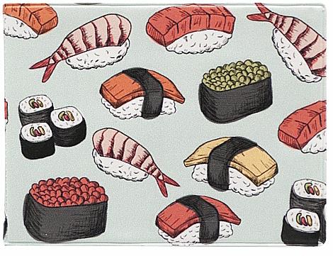 Обложка для студенческого Kawaii Factory Суши, цвет: красный. KW067-000079KW067-000079