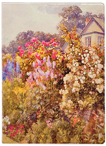 Обложка для паспорта Kawaii Factory Monets garden, цвет: бежевый. KW064-000037KW064-000037