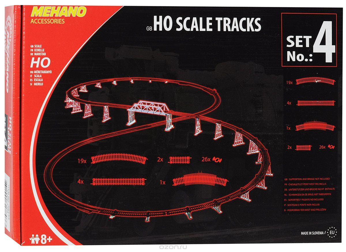 Mehano Набор рельс №4F104Набор рельс №4 для железнодорожного полотна Mehano позволит вам проявить фантазию и создать свой собственный, неповторимый железнодорожный трек. В комплект входят 4 прямых участка железнодорожного полотна, 19 радиальных отрезков, 1 радиальный отрезок с клеммами для подключения питания, 2 коротких прямых отрезка-компенсатора, 26 клипс-соединителей. Рельсы выполнены из высококачественного прочного пластика и никеля в масштабе 1:87, они подходят для железной дороги с шириной колеи 16,5 мм. Железная дорога, составленная из таких рельс, будет совместима со всеми поездами и вагонами Mehano в масштабе 1:87, а также с другими элементами железнодорожных треков компании Mehano. Набор рельс Mehano станет незаменимым аксессуаром для вашей миниатюрной железной дороги. Играя с этим набором, юный машинист сможет прокладывать различные маршруты, строить новые станции, придумывать неповторимый, свой собственный уникальный ландшафт. Уважаемые клиенты! Обращаем...