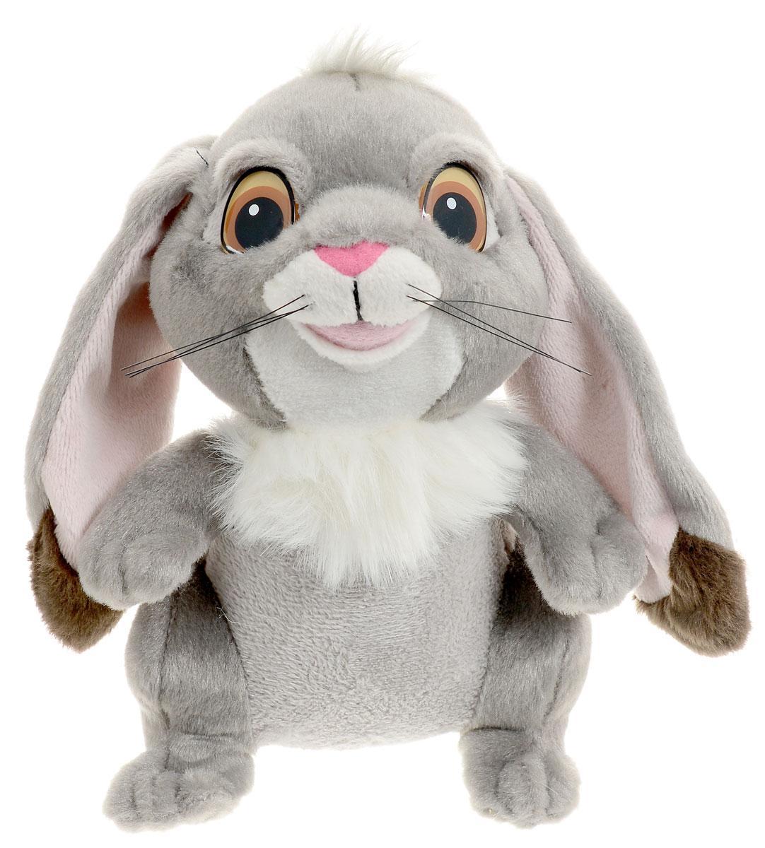 Мульти-Пульти Мягкая озвученная игрушка Кролик Клевер 18 смV39057/18Мягкая озвученная игрушка Мульти-Пульти Кролик Клевер вызовет улыбку у каждого, кто ее увидит! Туловище у кролика мягконабивное, а глазки - пластиковые. На голове забавный хохолок и длинные висячие уши. Если нажать игрушке на животик, то игрушечная копия любимого питомца принцессы Софии воспроизведет мелодии из мультфильма. Игрушка подарит своему обладателю хорошее настроение! Выполнена игрушка из качественных и безопасных материалов. Игрушка работает от незаменяемых батареек.