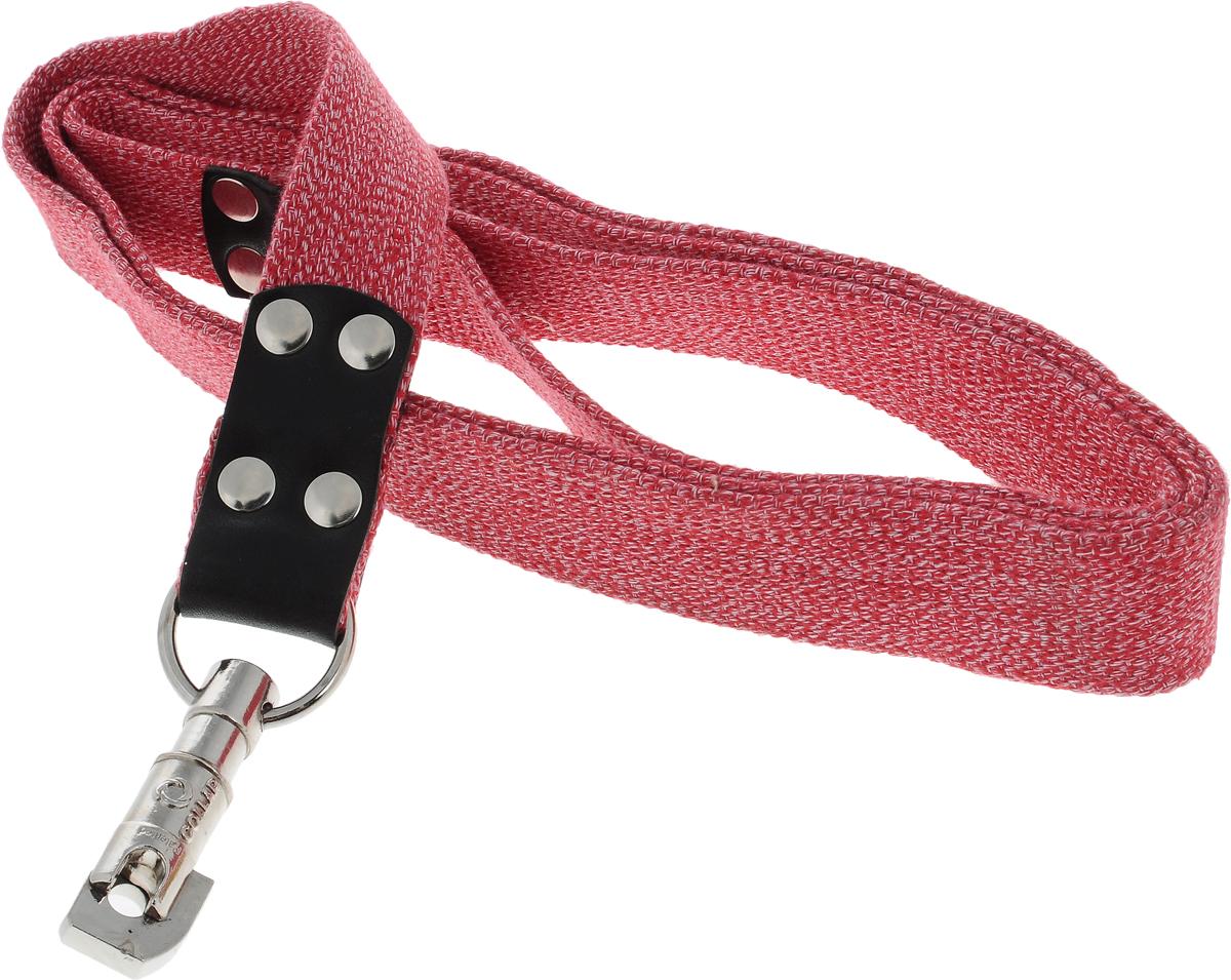 Поводок для собак CoLLaR, цвет: красный, ширина 3,5 см, длина 2 м03443Поводок для собак CoLLaR изготовлен из хлопка и снабжен металлическим карабином. Поводок отличается не только исключительной надежностью и удобством, но и ярким дизайном. Он идеально подойдет для активных собак, для прогулок на природе и охоты. Поводок - необходимый аксессуар для собаки. Ведь в опасных ситуациях именно он способен спасти жизнь вашему любимому питомцу. Длина поводка: 2 м. Ширина поводка: 3,5 см.