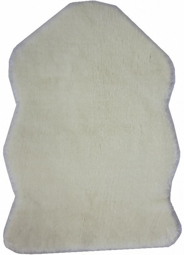 Шкура Kunshan Ccf Home Textile, искусственная, цвет: белый, 55х80 см21911Шкура из искусственного меха, максимально имитирующая натуральный, легко впишется в самый изысканный интерьер.