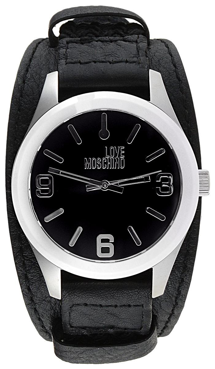 Часы наручные мужские Moschino Take2, цвет: черный. MW0414MW0414Наручные часы Moschino Take2 выполнены из нержавеющей стали. Корпус часов оснащен кварцевым механизмом и плоским, устойчивым к царапинам минеральным стеклом. Круглый циферблат с цифрами и отметками оформлен гравированной надписью с названием бренда. Ремень выполнен из натуральной кожи и текстиля, оформленного плетением. Изделие застегивается на застежку-пряжку. Часы упакованы в фирменную металлическую коробку.