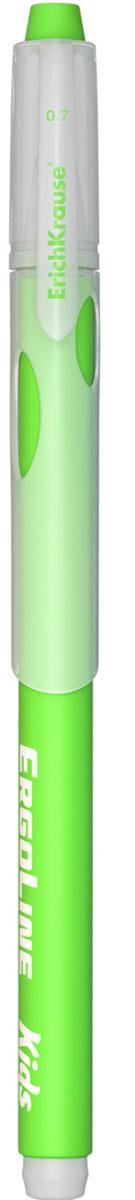 Erich Krause Ручка шариковая ErgoLine Kids в блистере цвет зеленый 41540