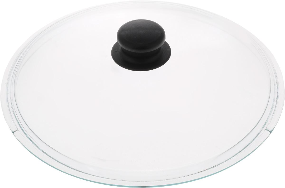 Крышка Sсovo. Диаметр 28 см238Крышка Sсovo изготовлена из термостойкого и экологически чистого стекла с пластиковой ручкой. Изделие удобно в использовании и позволяет контролировать процесс приготовления пищи. Диаметр крышки: 28 см. Диаметр ручки: 4,5 см. Высота ручки: 2,5 см.