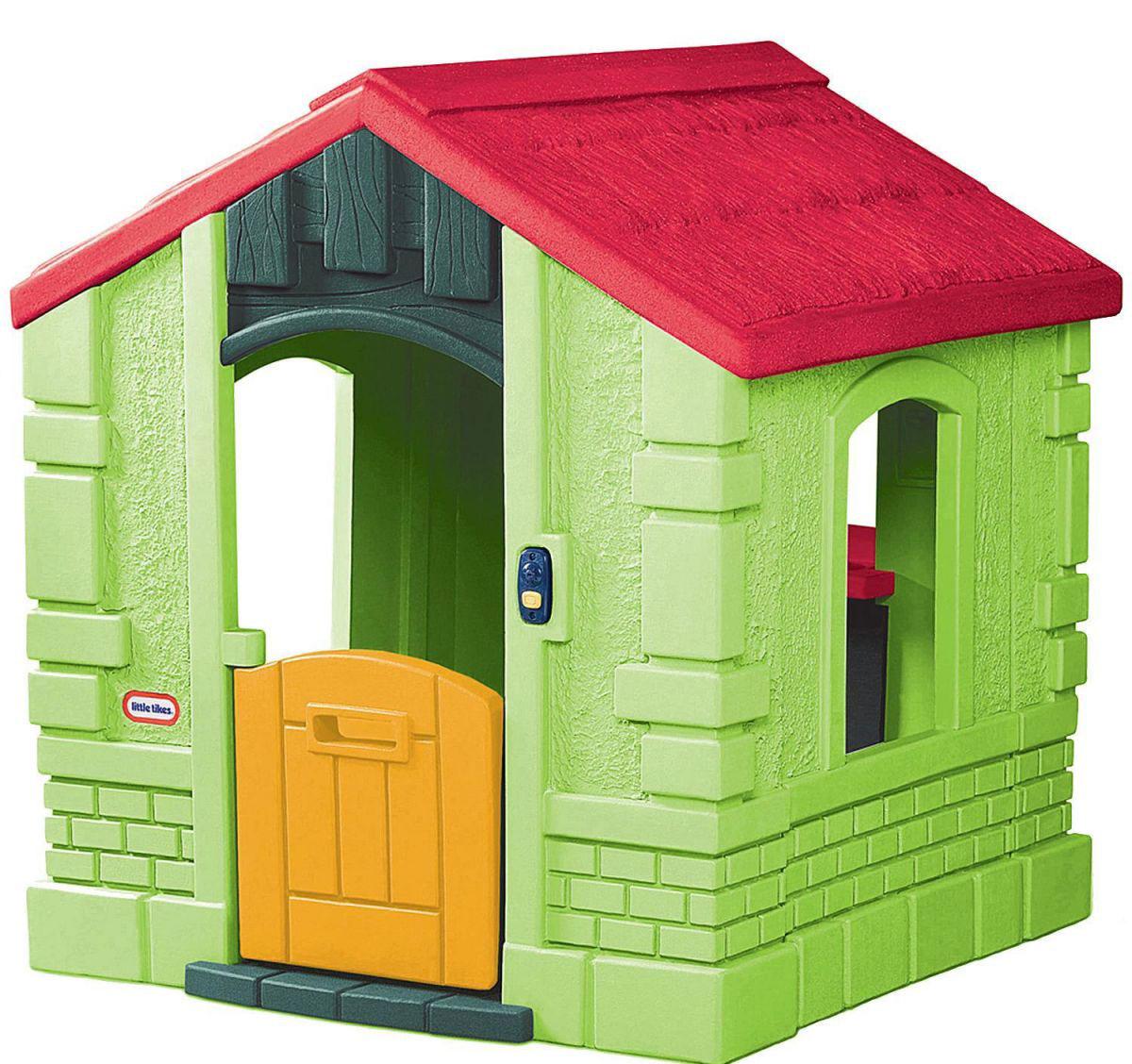 Little Tikes Игровой домик цвет зеленый