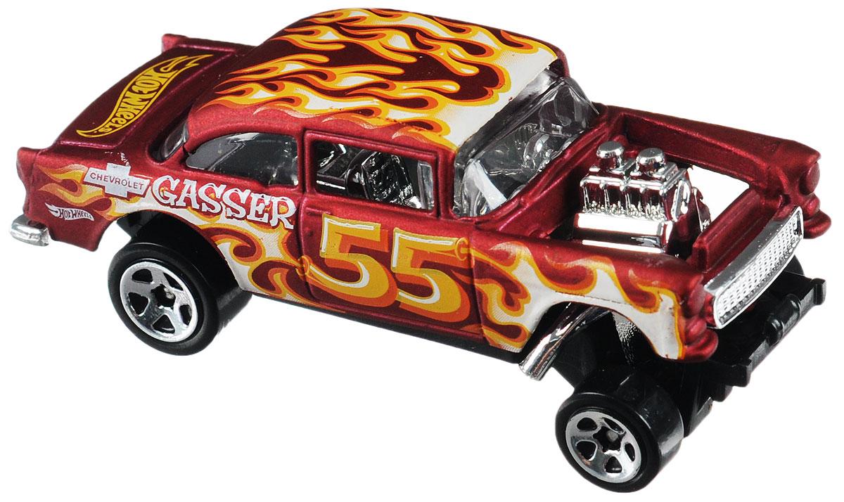 Hot Wheels Flames Машинка 55 Chevy Bel Air Gasser