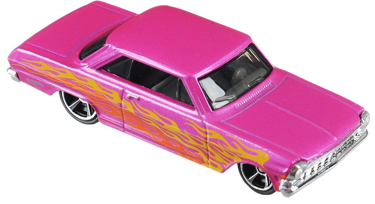 Hot Wheels Flames Машинка 63 Chevy II