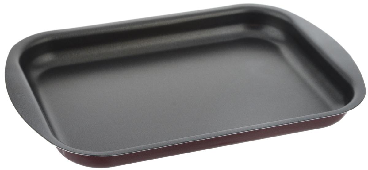 Противень Scovo Expert, с антипригарным покрытием, 29 х 20 х 2,5 смСЭ-051Противень Scovo Expert изготовлен из алюминия с антипригарным покрытием. Внутреннее покрытие Quantum2 Whitford исключает прилипание пищи к поверхности посуды даже с минимальным количеством масла. Покрытие не содержит PFOA, соединений кадмия и свинца, поэтому посуда абсолютно безопасна для здоровья. Внешнее покрытие Piroskan Whitford отличается исключительной термостойкостью и долговечностью. Противень предназначен для использования в духовке. Можно мыть в посудомоечной машине.