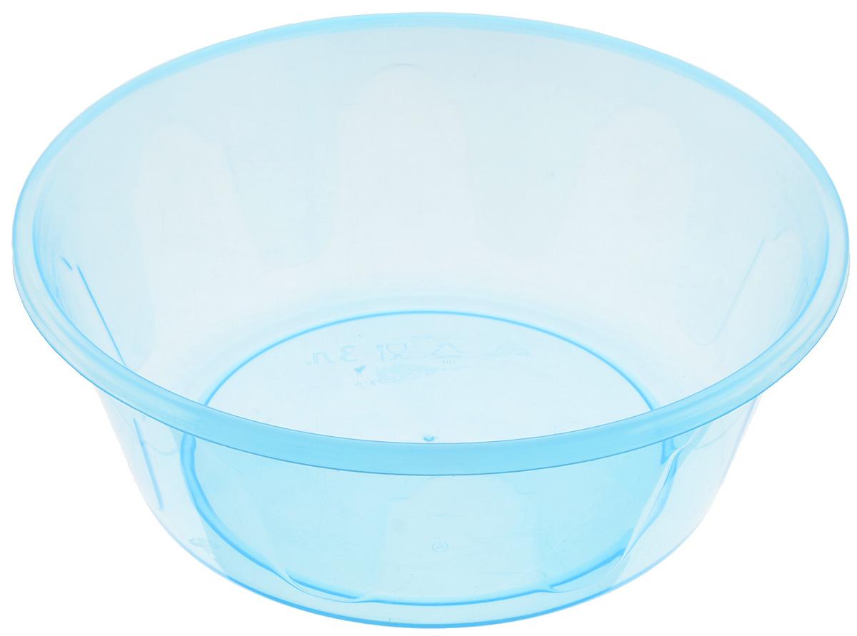 Таз Альтернатива, цвет: голубой, 3 лM1622_голубойТаз Альтернатива выполнен из прочного прозрачного пластика. Он предназначен для стирки и хранения разных вещей. Также в нем можно мыть фрукты. Такой таз пригодится в любом хозяйстве. Диаметр таза (по верхнему краю): 25 см. Высота стенки: 9,5 см.