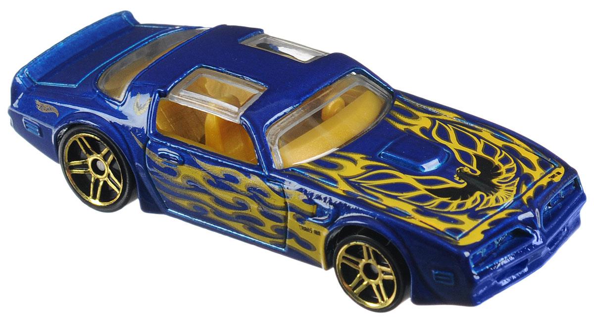 Hot Wheels Flames Машинка 77 Pontiac Firebird