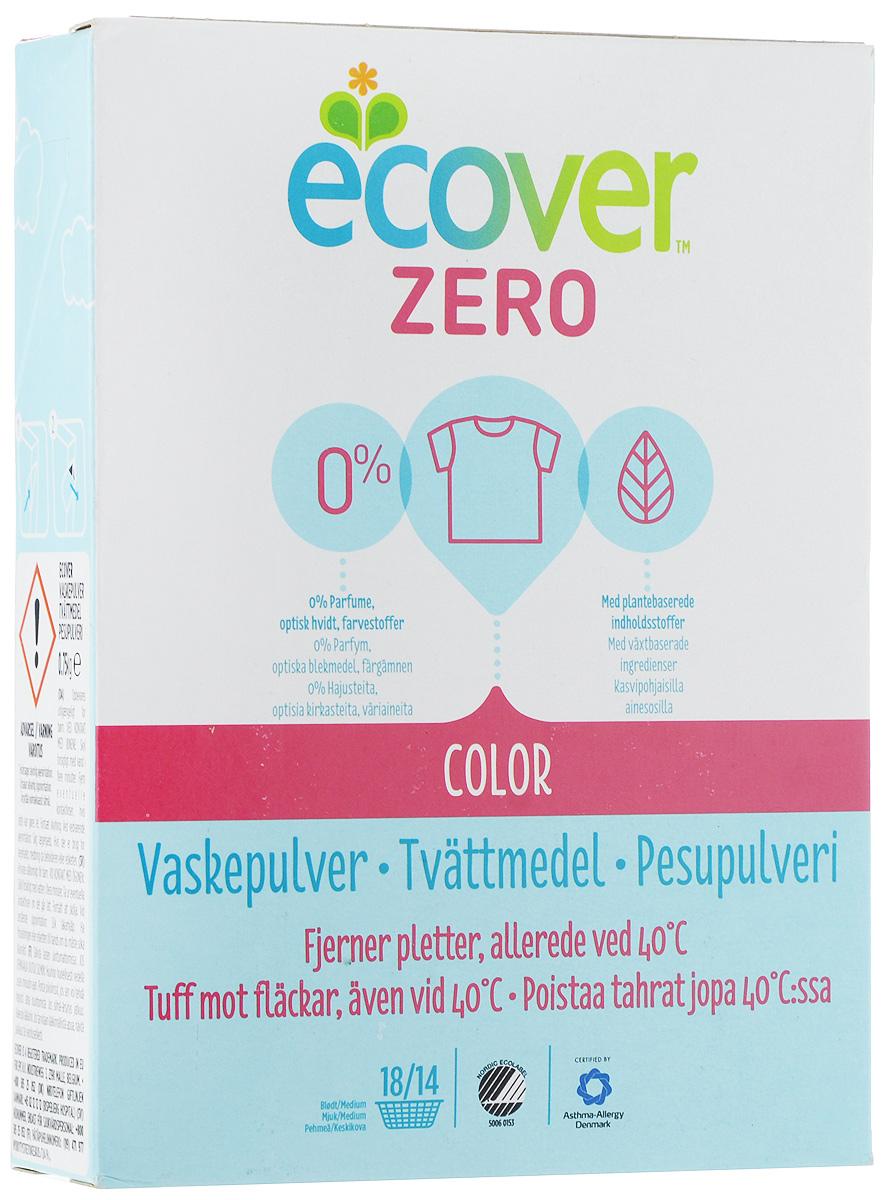 Порошок стиральный Ecover Zero, для цветного белья, 750 г400342Ультраконцентрированная формула экологического стирального порошка Ecover Zero для цветного белья подходит для стирки цветных тканей при температуре от 30 до 60 С. Улучшенная формула предназначена для бережного удаления таких загрязнений как пятна от вина, фруктов, травы и т.д. Не содержит ароматизаторов (что особенно важно для чувствительных людей: беременных и детей). Сочетает в себе высокую эффективность и высокую экологичность - отлично отстирывает даже при низкой температуре, не оставаясь на белье и не оказывая вредного влияния на кожу. Экономичен в использовании и подходит как для стирки в стиральных машинах, так и для ручной стирки. Товар сертифицирован.