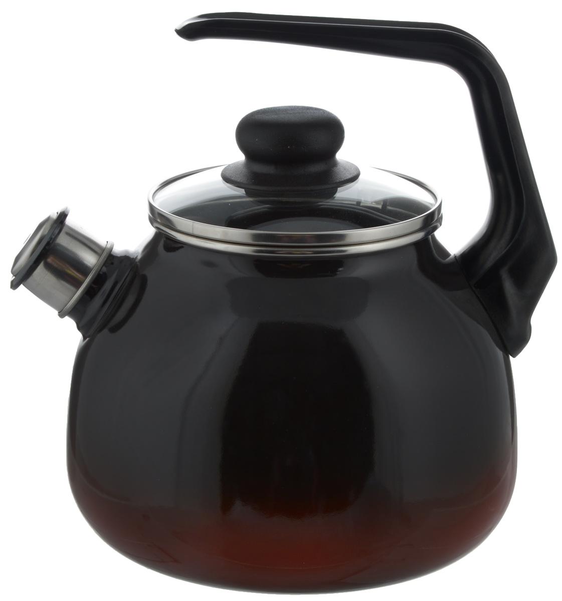 Чайник СтальЭмаль Кармен, со свистком, цвет: черный, красный, 3 л4с209/яЧайник СтальЭмаль Кармен изготовлен из высококачественной нержавеющей стали с эмалированным покрытием. Нержавеющая сталь обладает высокой устойчивостью к коррозии, не вступает в реакцию с холодными и горячими продуктами и полностью сохраняет их вкусовые качества. Особая конструкция дна способствует высокой теплопроводности и равномерному распределению тепла. Чайник оснащен удобной ручкой. Носик чайника имеет снимающийся свисток, звуковой сигнал которого подскажет, когда закипит вода. Подходит для всех типов плит, включая индукционные. Можно мыть в посудомоечной машине. Диаметр чайника (по верхнему краю): 12,5 см. Высота чайника (без учета ручки и крышки): 15 см. Высота чайника (с учетом ручки): 23 см.
