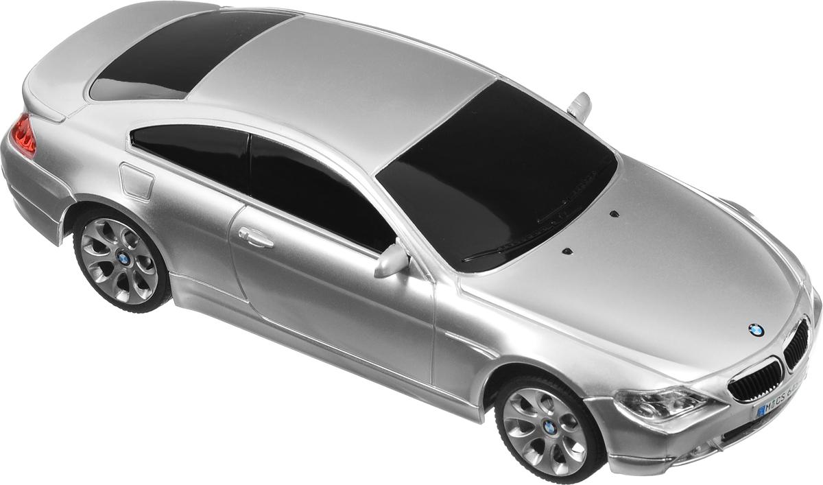 Rastar Радиоуправляемая модель BMW 645Ci цвет серебристый черный