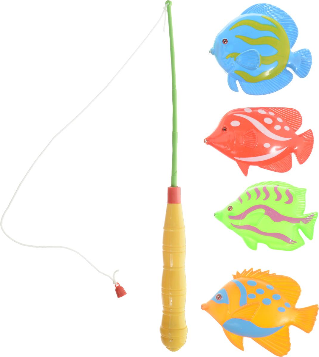 Играем вместе Игрушка для ванной Рыбалка Маша и МедведьB526466-R2Игрушка для ванной Играем вместе Рыбалка. Маша и Медведь - вот это настоящая забава. Половить рыбку вместе с любимыми героями! Теперь процесс купания станет для ребенка еще интереснее: ведь он с Машей и Медведем из полюбившегося всем мультфильма едет на рыбалку. В комплекте вы найдете одну удочку и четыре разноцветных рыбки. Игра отлично подходит для развития мелкой моторики.