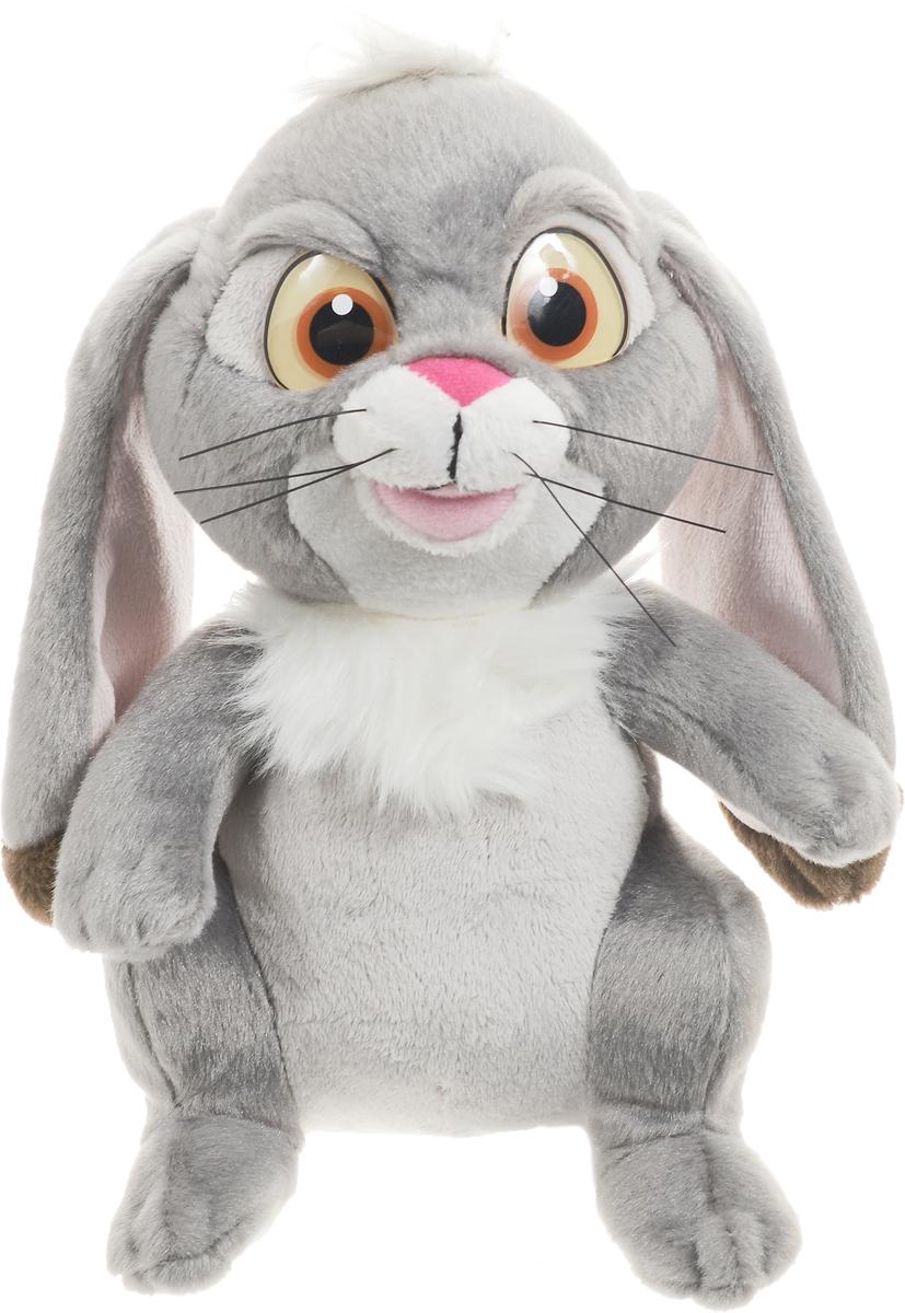 Мульти-Пульти Мягкая озвученная игрушка Кролик Клевер 22 смV39057/22XМягкая озвученная игрушка Мульти-Пульти Кролик Клевер вызовет улыбку у каждого, кто его увидит! Туловище у кролика - мягконабивное, а глазки большие и ясные. На голове забавный хохолок и длинные висячие уши. Если нажать игрушке на животик, игрушечная копия любимого питомца принцессы Софии из популярного детского мультфильма София Прекрасная может воспроизводить 2 веселые мелодии. Игрушка подарит своему обладателю хорошее настроение! Кролик помогает малышу познавать окружающий мир через тактильные ощущения, знакомит его с животным миром планеты, формирует цветовосприятие и способствуют концентрации внимания. Для работы игрушки необходимы 3 батарейки типа AG13 (LR44) (товар комплектуется демонстрационными).
